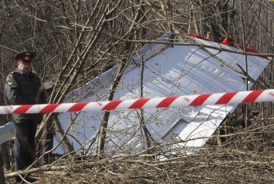 """""""Reuters""""/""""Scanpix"""" nuotr./Tragedijos vieta prie Smolensko"""