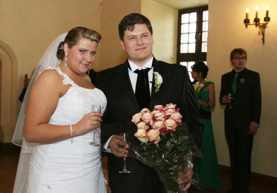 Eriko Ovčarenko/15min.lt nuotr./Merūno ir Erikos vestuvės