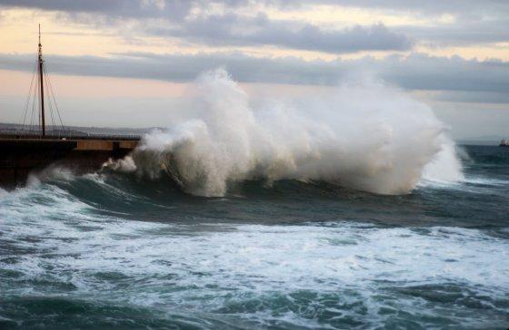 Šėlstantis Atlanto vandenynas