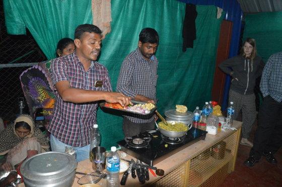 Indiško maisto gaminimo kursai