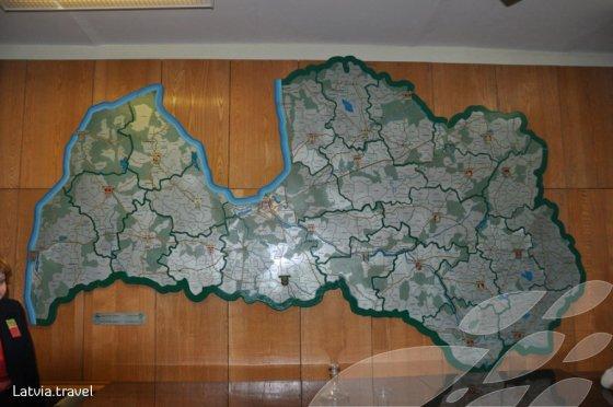 Latvia.travel.lt nuotr./Autentiški žemėlapiai