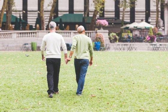 123rf.com nuotr./Homoseksualių vyrų pora