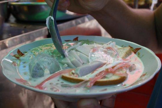 Ž.Nečejauskaitės nuotr./Ledinė kokosų sriuba