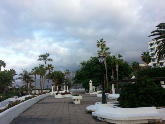 Kristinos Grigorjevos nuotr./Puerto de La Cruz poilsio zona