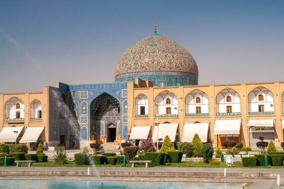 123rf.com nuotr./Šeicho Loftalos mečetė, Iranas