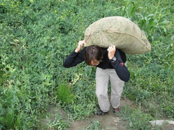 Painislove.lt nuotr./Sunkus maišas, sveria apie 45 kg