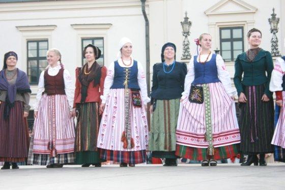 Aurelijos Kripaitės nuotr. /Klaipėdos krašto tautinis kostiumas.