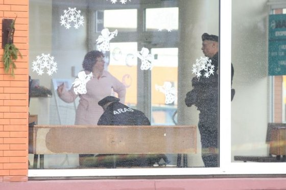 Aurelijos Kripaitės/15min.lt nuotr./Palangoje tarnybos sukeltos ant kojų gavus informaciją apie sprogmenis