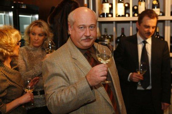 Jono Staselio nuotrauka/Vyno parduotuvės atidarymas