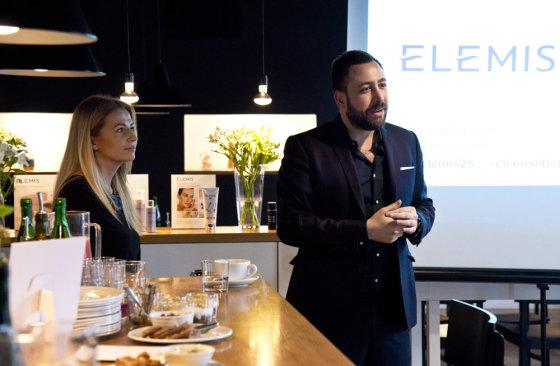 """""""Femina Bona"""" nuotr./Tarptautinio """"Elemis"""" prekės ženklo vadovas Ioannis Charalambous"""