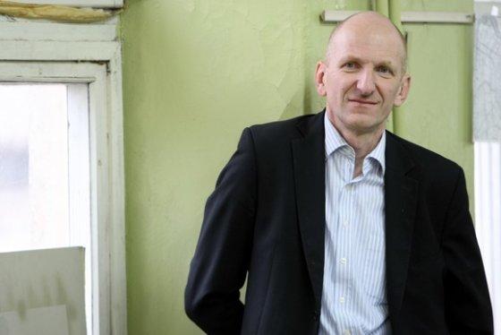 """Juliaus Kalinsko/15min.lt nuotr./ SĮ """"Vilniaus planas"""" vyr. architektas Mindaugas Pakalnis"""
