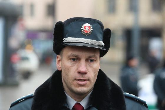 Juliaus Kalinsko/15min.lt nuotr./Policijos generalinis komisaras Linas Pernavas