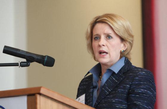 Juliaus Kalinsko/15min.lt nuotr./JAV ambasadorė Deborah McCarthy