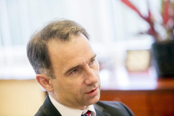 Juliaus Kalinsko/15min.lt nuotr./Energetikos ministras Rokas Masiulis
