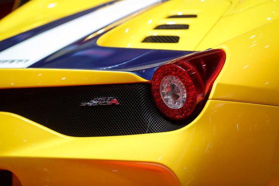 "Juliaus Kalinsko/15min.lt nuotr./""Ferrari"" kabrioletas ""458 Speciale"""