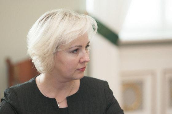 Juliaus Kalinsko/15min.lt nuotr./Kainų komisijos pirmininkė Diana Korsakaitė