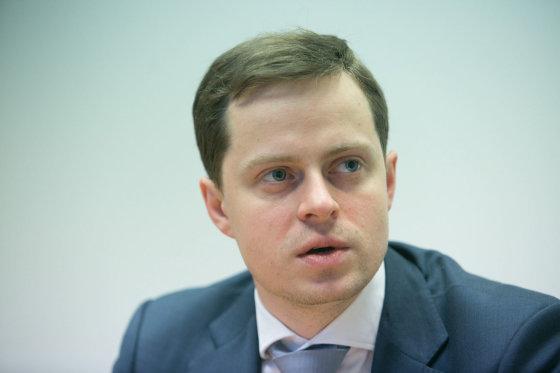 "Juliaus Kalinsko/15min.lt nuotr./""Litgas"" vadovas Dominykas Tučkus"
