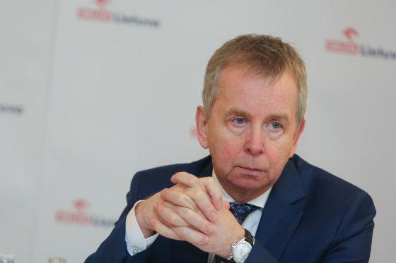 """Juliaus Kalinsko/15min.lt nuotr./ """"PKN ORLEN"""" vyriausiasis ekonomistas Adamas Czyżewskis"""