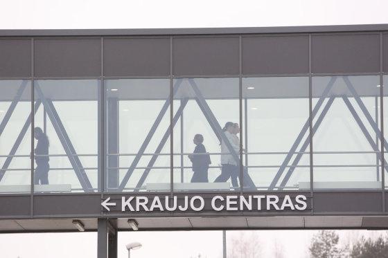Juliaus Kalinsko/15min.lt nuotr./Santariškių klinikų kraujo centras