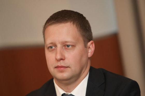 """""""Air Lituanica"""" direktorius Erikas Zubrus"""