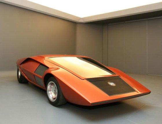 """Gamintojo nuotr./1970 m. """"Lancia Stratos HF Zero"""""""