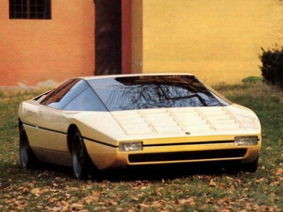 "Gamintojo nuotr./1974 m. ""Lamborghini Bravo"""