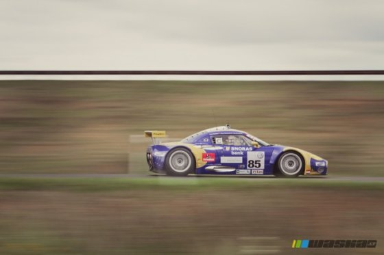 "Algirdo Venskaus/waska.lt nuotr./""Omnitel 1000 km lenktynės"". ""Spyker C8 Laviolette GT2R"""