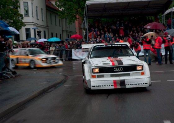 """Gamintojo nuotr./""""Audi quattro"""" – 30 metų"""