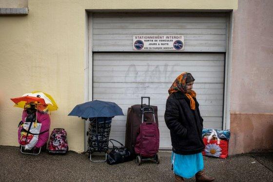 "AFP/""Scanpix"" nuotr./Čigonė Vilerbano mieste"