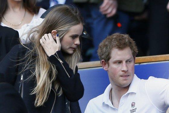 """""""Reuters""""/""""Scanpix"""" nuotr./Cressida Bonas ir princas Harry"""