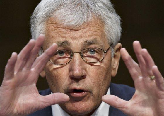 """Scanpix""/AP nuotr./JAV gynybos sekretorius Chuckas Hagelis"