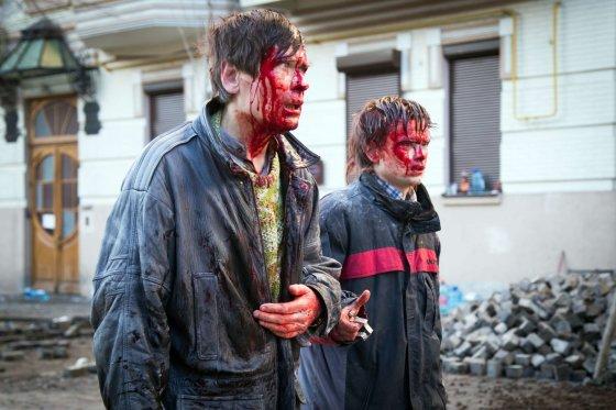 "AFP/""Scanpix"" nuotr./Kijeve sužeisti protestuotojai"