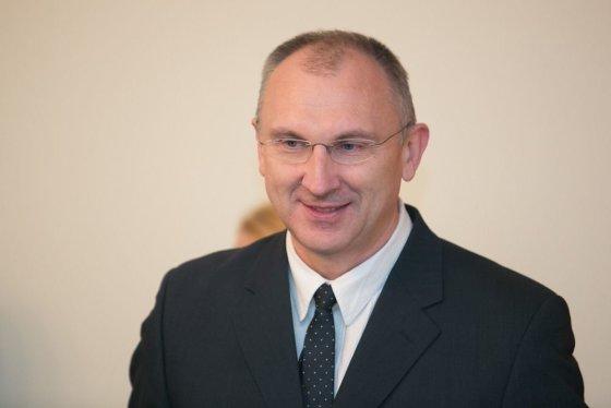 Andriaus Ufarto/BFL nuotr./Renginio akimirka. Širdies chirurgijos centro vadovas doc. Virgilijus Tarutis.