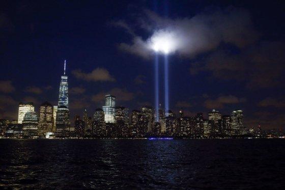 """Reuters""/""Scanpix"" nuotr./Rugsėjo 11-osios memorialas Niujorke"