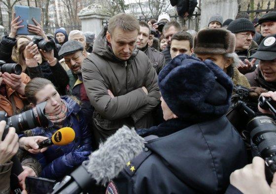 """Reuters""/""Scanpix"" nuotr./Rusijos opozicijos lyderis Aleksejus Navalnas"