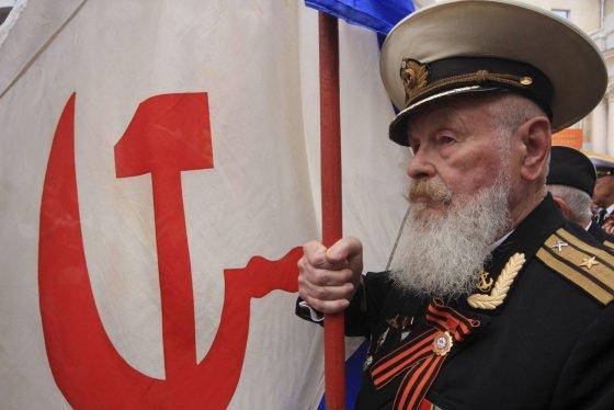 """""""Reuters""""/""""Scanpix"""" nuotr./Sevastopolyje paminėta Pergalės diena"""