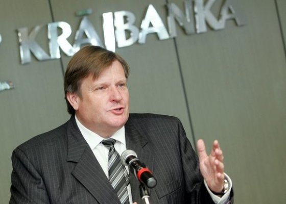 "Kaspars Krafts BFL/F64 nuotr./""Latvijas Krājbanka"" valdybos pirmininkas Ivars Priedītis"