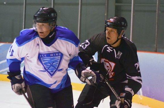 "hockey.lt/NLRL: ""Hockey punks"" ir ""Ice wind"" komandų dvikova"