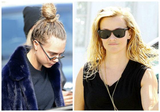 AOP nuotr./Cara Delevingne ir Reese Witherspoon