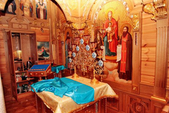 Augusto Didžgalvio nuotr./Privati koplyčia Viktoro Janukovyčiaus rezidencijoje
