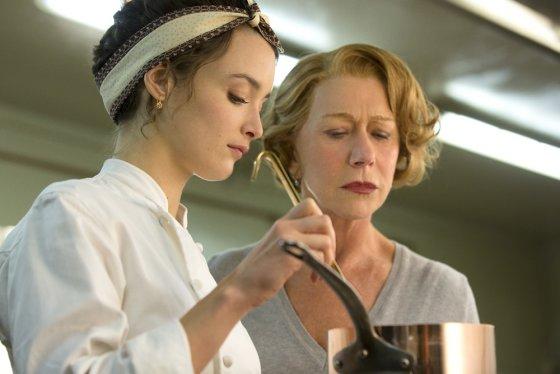 """ACME Film"" archyvo nuotr./Charlotte Le Bon ir Helen Mirren filme ""Šimto žingsnių kelionė"""