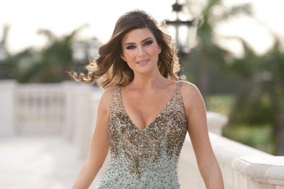 """Scanpix""/AFP (Miss Universe Organization) nuotr./""Mis Libanas"" Saly Greige"