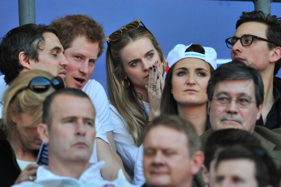 "AFP/""Scanpix"" nuotr./Princas Harry ir Cressida Bonas"