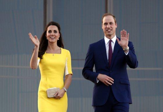 """""""Reuters""""/""""Scanpix"""" nuotr./Princas Williamas ir Kembridžo hercogienė Catherine"""