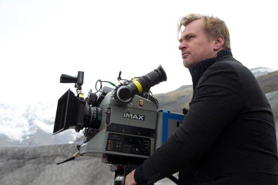 """""""ACME Film"""" archyvo nuotr./Režisierius Christopheris Nolanas"""
