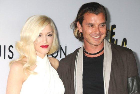 """Scanpix""/""Sipa Press"" nuotr./Gwen Stefani su vyru Gavinu Rossdale'u"