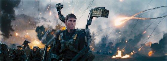 """""""ACME Film"""" archyvo nuotr./Tomas Cruise'as filme """"Ties riba į rytojų"""""""