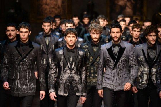 """Dolce & Gabbana"" kolekcijos modeliai"