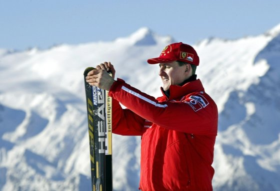 Michaelis Schumacheris 2003-iųjų sausį