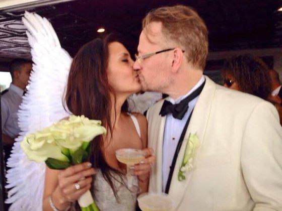 """Twitter"" nuotr./Jaredo Harriso ir Allegros Riggio vestuvės"